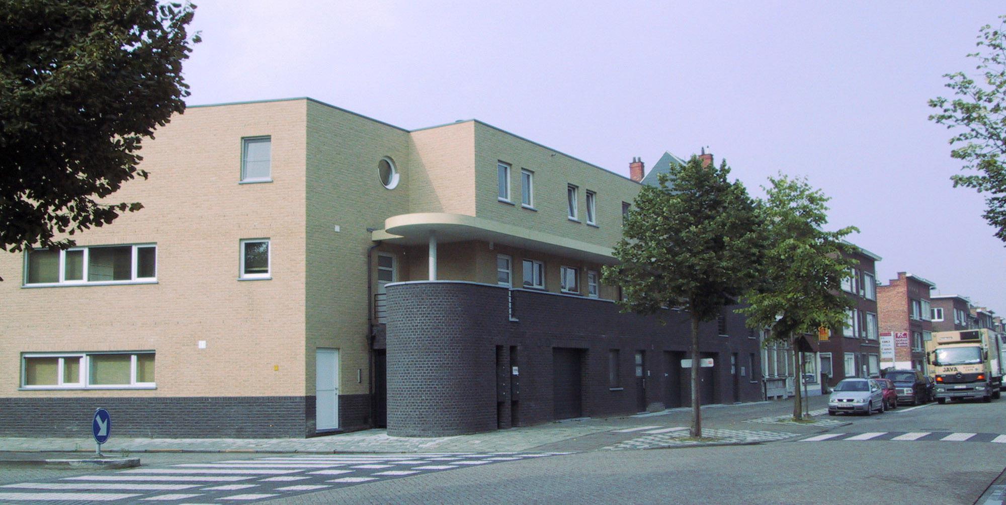 Duplexappartementen te Wilrijk.